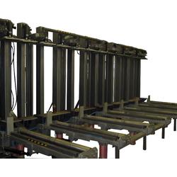 Пресс вертикальный с автоматической загрузкой-выгрузкой ПВР 001 Бакаут Сращивание по длине Столярные станки