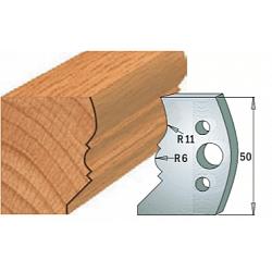 Комплекты ножей и ограничителей серии 690/691 #503 CMT Ножи и ограничители для фрез 50 мм Ножи